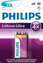 Philips 9V Lithium Ultra Batterij - 1 stuk