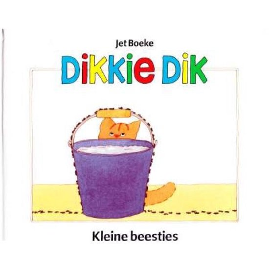 Boek cover Dikkie Dik Kleine beestjes van Jet Boeke en Arthur van Norden (Onbekend)