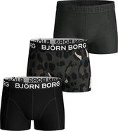 Bjorn Borg Jongens 3Pack Short Gigant Leo-146/152