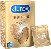 Durex Condooms Real Feel 20 stuks