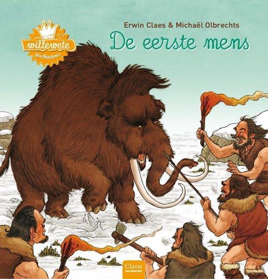 Boek cover Willewete  -   De eerste mens van Erwin Claes (Hardcover)