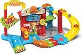 VTechToet Toet Auto's Brandweerkazerne - Educatief Babyspeelgoed