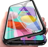 iPhone 11 Pro Max magnetisch hoesje - 360 full-body hoes - Screenprotector voor- en achterkant - zwart