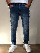 MASKOVICK Heren Jeans Milano stretch SlimFit -  MediumUsed - W30 X L32