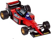 Welly Metalen auto: formule 1 racer rood 10,7 cm