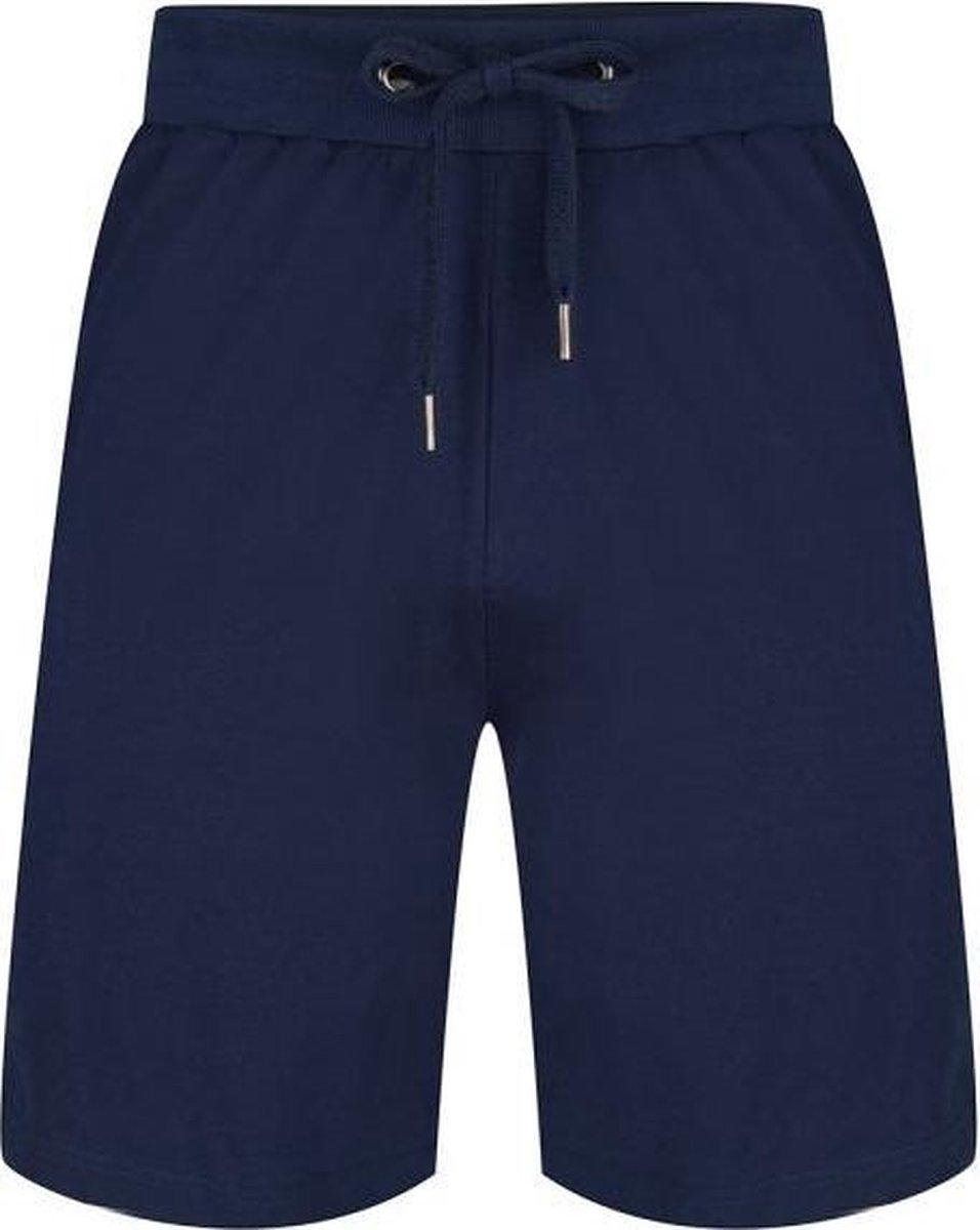 Pastunette for Men korte heren Pyjamabroek - Blauw - Maat M (50)