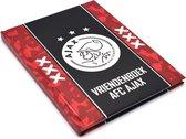 Vriendenboek Ajax: rood met zwarte baan