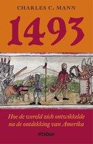 Boek cover 1493 van Charles Mann (Onbekend)