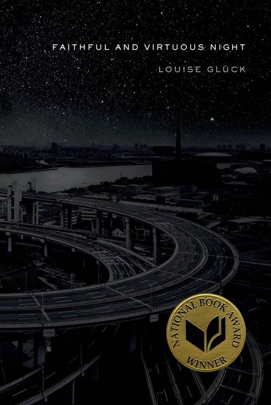 Boek cover Faithful and Virtuous Night van Louise Gluck (Paperback)