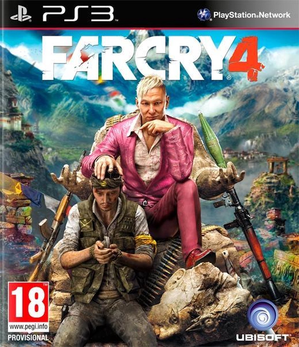 Far Cry 4 - PS3 - Ubisoft