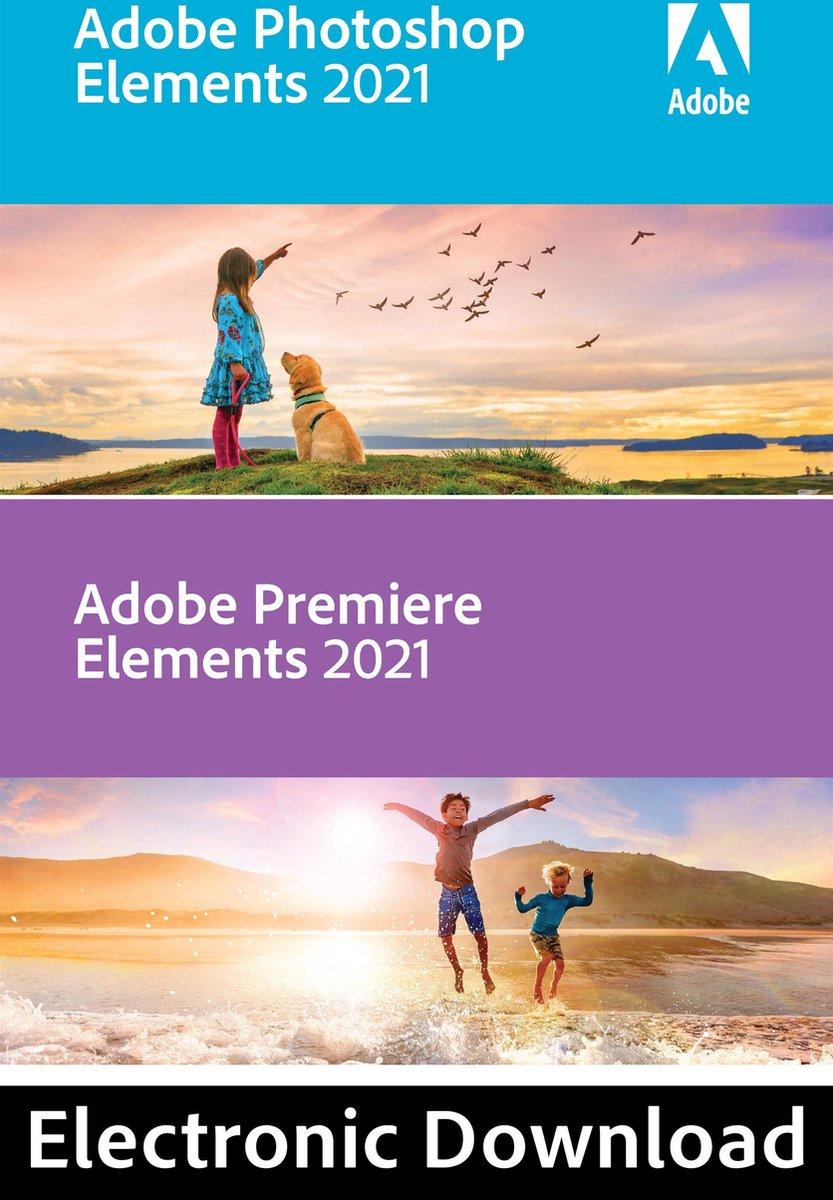 Adobe Photoshop & Premiere Elements 2021 - Nederlands/Engels/Frans/Duits - Windows download