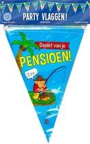 Vlaggenlijn - Pensioen - Cartoon - 10m