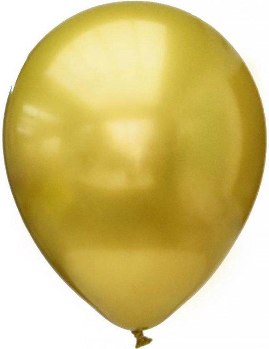 Ballonnen - Goud - Platinum kwaliteit - 28cm - 12st.