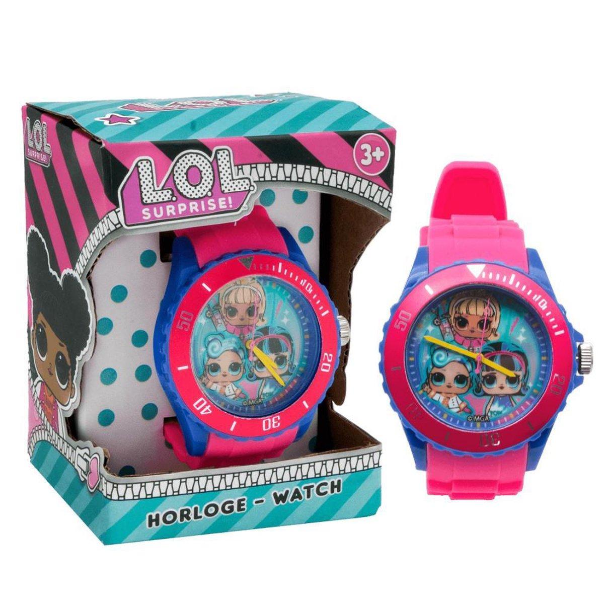 LOL Surprise Horloge voor meiden analoog - L.O.L. Surprise Watch