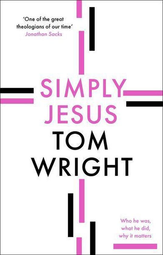 Boek cover Simply Jesus van N. T. Wright (Onbekend)