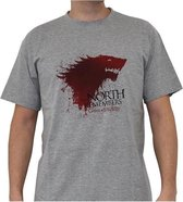 GAME OF THRONES - Tshirt The North... man SS sport grey - basic
