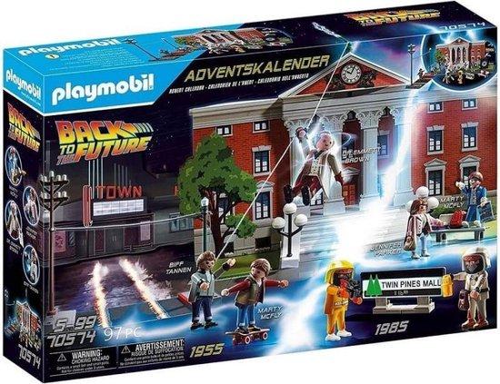 PLAYMOBIL Back To The Future Adventskalender - 70574