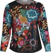 Paprika - Female - T-shirt in bedrukt, warm tricot