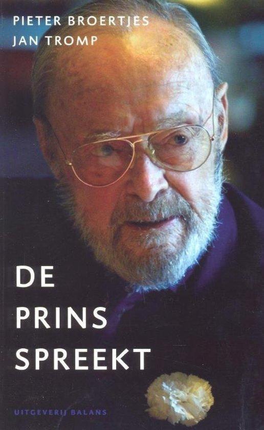 Boek cover Prins Spreekt van Pieter Broertjes (Paperback)