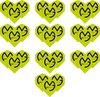 Afbeelding van het spelletje Dragon darts 10 sets (30 stuks) - Michael van Gerwen - darts flights - groen - 100 micron