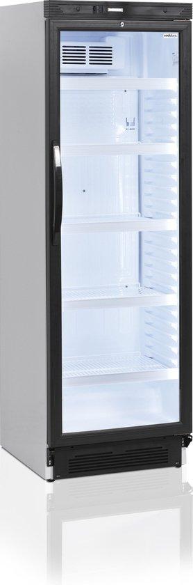 Koelkast: Cooldura Displaykoelkast - Drankenkoelkast met glazen deur - Model C4L-I - 347 L, van het merk Cooldura