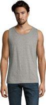 SOLS Heren Justin Mouwloze Tank / Vest Top (Grijze Mergel)