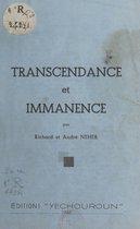 Transcendance et immanence