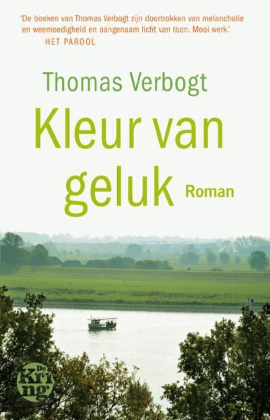 Boek cover Kleur van geluk van Thomas Verbogt (Paperback)