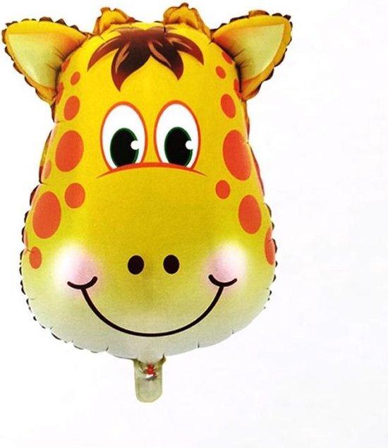 Safari versiering – Giraffe – Folieballonen – Jungle decoratie
