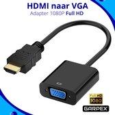 Garpex® HDMI naar VGA adapter – HDMI to VGA – Full HD 1080P – Male naar Female