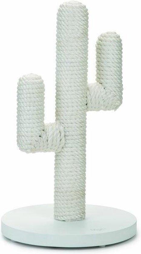 Designed By Lotte Cactus - Krabpaal -Wit - 35x35x60cm