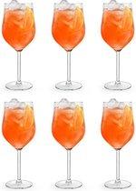 Libbey Cocktailglas Joya Spritzer - 620 ml / 62 cl - 6 Stuks - Vaatwasserbestendig - Hoge kwaliteit - Elegant design - Perfect voor een cocktailfeest aan huis