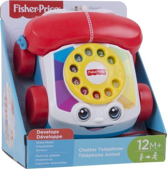 Fisher-Price Peutertelefoon met Trektouw