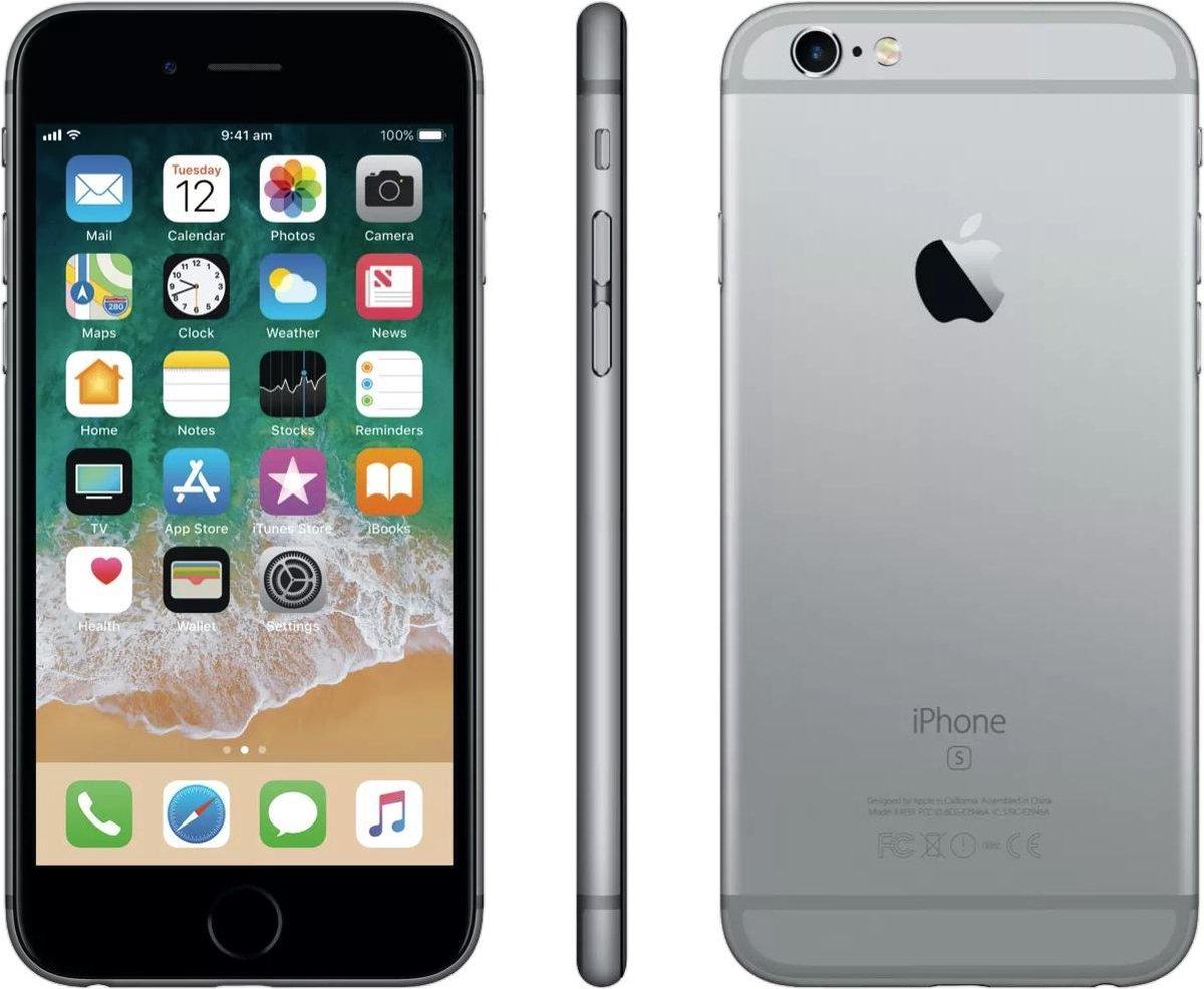 Apple iPhone 6S - Alloccaz Refurbished - B grade (Licht gebruikt) - 64GB - Spacegrijs
