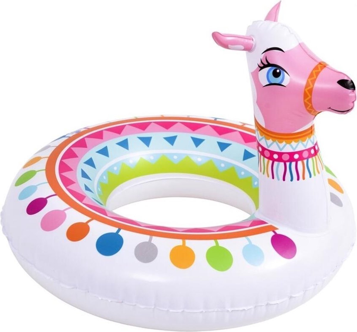 Jilong Zwemband Alpaca 115 X 80 Cm Wit/roze