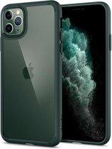 Spigen Ultra Hybrid Case Apple iPhone 11 Pro - Middernachtgroen