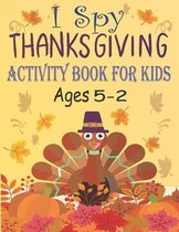 I Spy Thanksgiving Activity Book for Kids Ages 2-5
