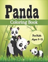 PANDA Coloring Book For Kids Ages 9-12