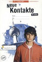 Boek cover Neue Kontakte vmbo-bk 4 leerwerkboek van