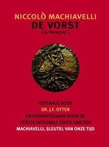 Verzameld werk van Jo Otten 1 -   De Vorst. Machiavelli, sleutel van onze tijd