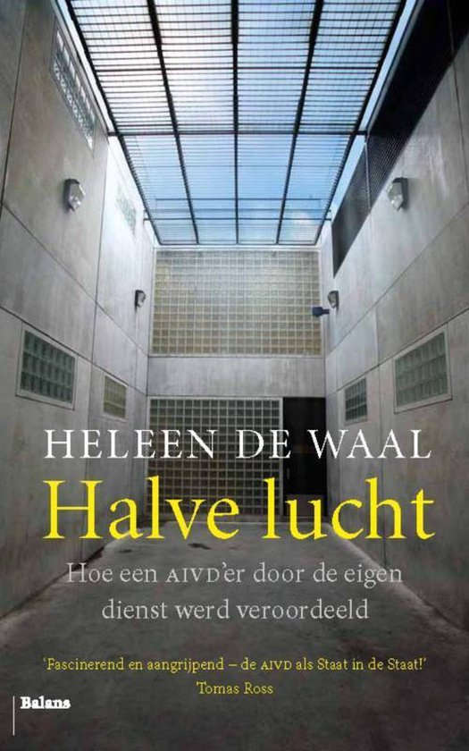 Boek cover Halve lucht van Heleen de Waal (Paperback)