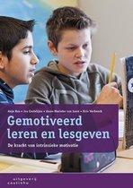 Boek cover Gemotiveerd leren en lesgeven van Anje Ros (Paperback)