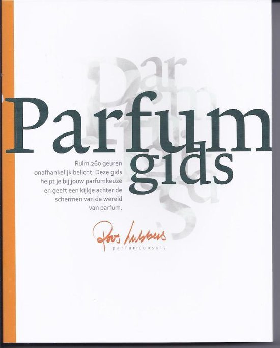 Cover van het boek 'Parfumgids'
