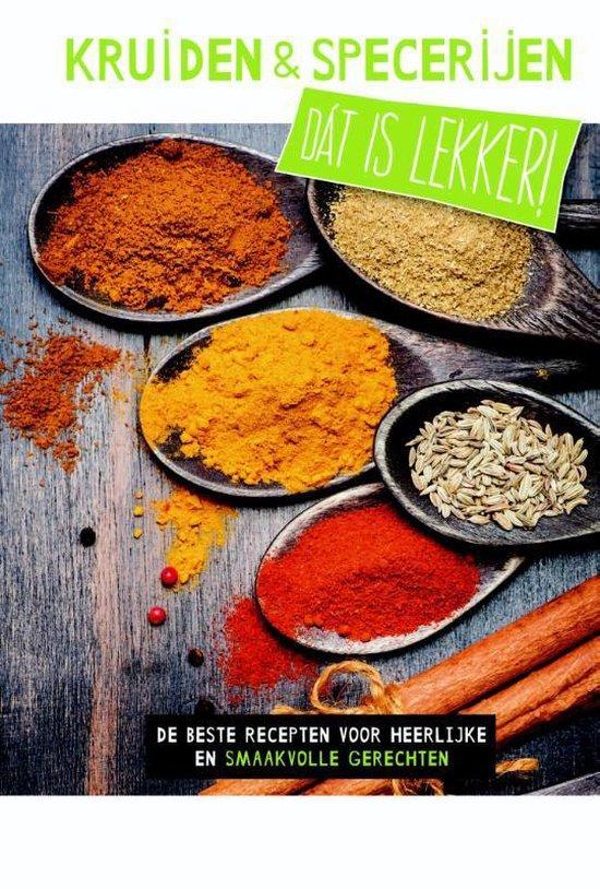 Boek cover Dat is lekker!  -  Kruiden en specerijen Kruiden en specerijen van Hans Gerlach (Hardcover)