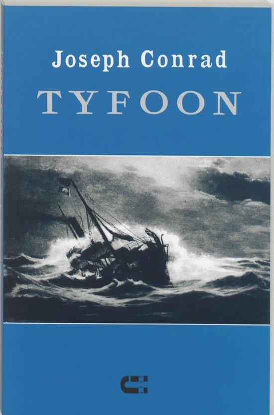 Boek cover Tyfoon van Joseph Conrad