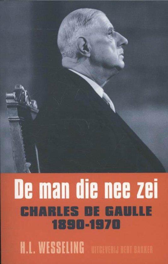 Cover van het boek 'De man die nee zei' van Henk Wesseling