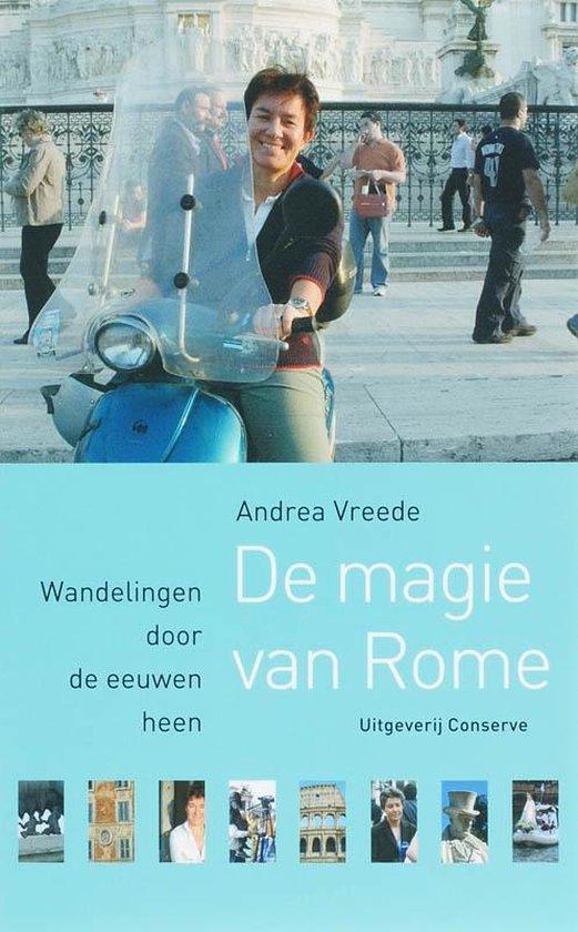 Cover van het boek 'De magie van Rome' van Andrea Vreede