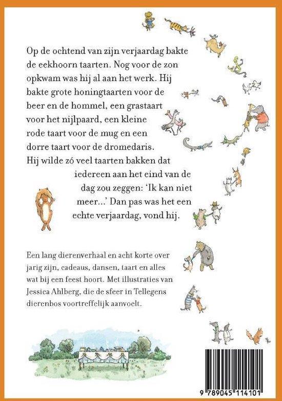 Kinderboeken Querido - De verjaardag van de eekhoorn en andere dieren. 7+