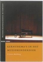 Wetenschapsfilosofie in context  -   Kernthema's in het muziekonderzoek