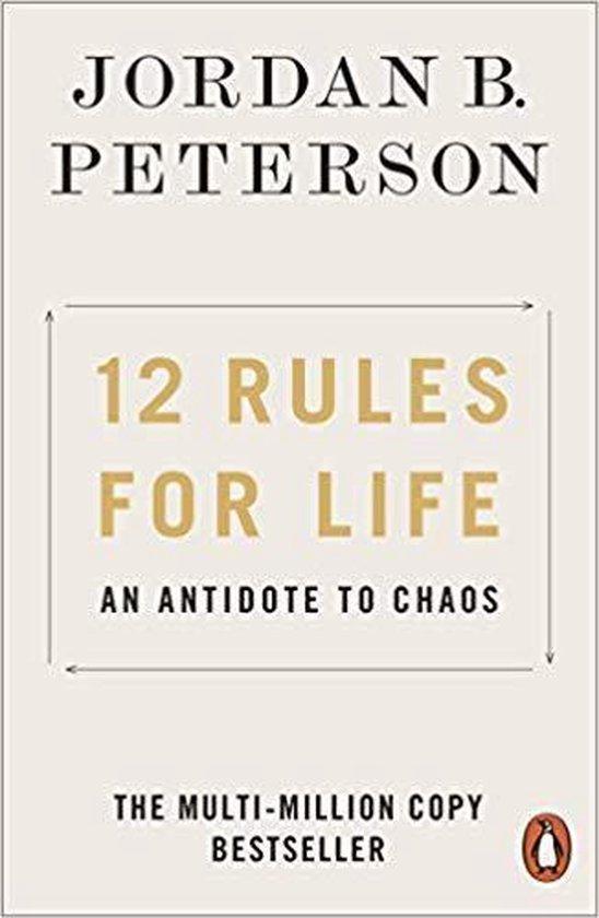 Boek cover 12 Rules for Life van Jordan B. Peterson (Paperback)